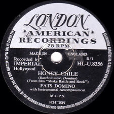 "classique FATS DOMINO 198cm Honey chile / NE You Know "" GB LONDON HLU 8356 VG+"