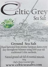 *250G GROUND CELTIC GREY SEA SALT FROM CELTICSEASALTS Co..CELTIC SEA SALT Co*