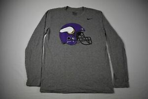 Minnesota Vikings Nike Dri-Fit Long Sleeve Shirt Men's Other New without Tags