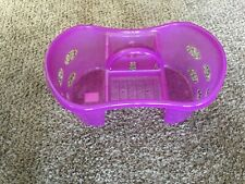 Cleaning Supplies Caddy Fuchsia Carry Tools Household Organizer Bin