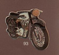 Pin's Demons & Merveilles Moto Motorcycle NORTON