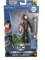 DC Multiverse Katana Action Figure Collect & Connect Killer Croc NEW
