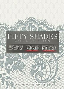 Fifty Shades Collection: of Grey / Darker / Freed (3 Disc, Unrated) DVD NEW