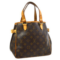 LOUIS VUITTON BATIGNOLLES HAND TOTE BAG VI1008 PURSE MONOGRAM M51156 30841