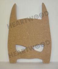 BATMAN HEAD WITH EYES IN MDF 200mm x 144mm x 18mm/FREESTANDING SHAPE