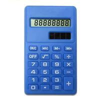 8 Stellige Taschenrechner Bürorechner Solar/Batterie/Tasche/Rechner/Tisch T4C5