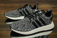 adidas NMD R2 Black White B22631 Running Shoes Men's Multi Size NEW