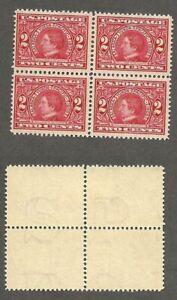 U.S. 1909 Alaska Yukon Pacific  - Scott# 370 Block of 4 - Mint, Hinged   stk#FL