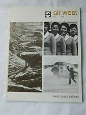 Original Air West Magazine-April 1964