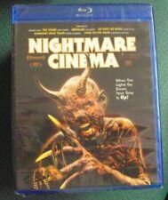 NIGHTMARE CINEMA BLU-RAY SEALED horror anthology Mick Garris Joe Dante
