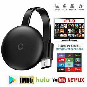 HD 1080P Wireless Chromecast 2nd Generation Digital HDMI Media Video Streamer FT