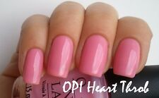OPI **HEART THROB** Rosy Bubble Gum PINK Sheer Girly Nail Polish Lacquer H18 New