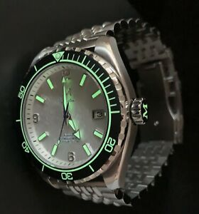 Marlinwatch MK2 Divers watch🐟 Automatic 43.5mm dial 🇬🇧 uk limited edition