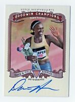 2013 Goodwin Champions Autograph Dawn Harper Hurdles Track and Field USA Gold