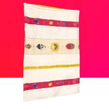 Flower Girl Stripes Standard Pillow Sham Bedding Garden Character 100% Cotton
