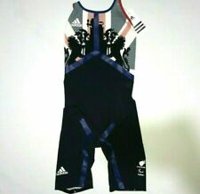 Adidas Adizero Swimsuit XVI Team GB Para Olympic Elite Race Suit FINA 28' 30'