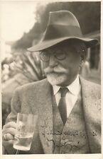 Alfons MUCHA / Photographie signée avec mention autographe / 1936