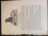 m17c3 ephemera 1920s short story jacko's first battle marian g johnstone