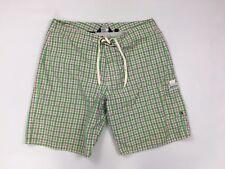 RALPH LAUREN Swim Shorts - W32 - Check - Great Condition - Men's