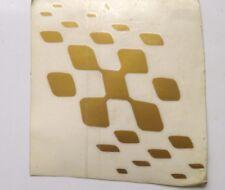 damier drapeau TRANSFERT label.gold - pour pour GP LAMBRETTA SCOOTERS