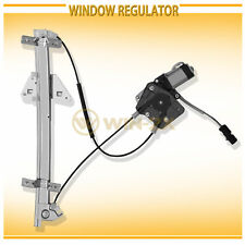 1pc Front Left Power Window Regulator w/ Motor Assy Fit Durango Dakota Crew Cab