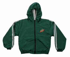 Seattle Supersonics NBA Youth Lightweight Reversible Hooded Jacket, Green