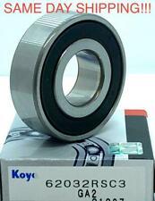 KOYO 6203 2RS C3 Deep Groove Ball Bearings 17x40x12mm SAME DAY SHIPPING !!!