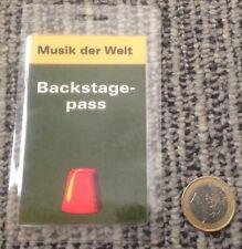 Backstage musik der Welt, RARE! EXCELLENT!