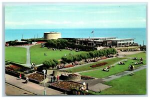 Postcard Eastbourne Sussex The Wish Tower and Sun Lounge