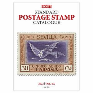 2022 Scott Stamp Catalog Volume 6A & 6B - COUNTRIES SAN MARINO-Z  Reference Book