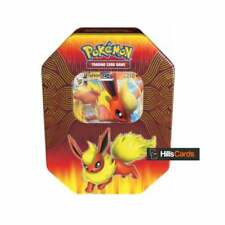 Pokemon Flareon-GX Elemental Power Collectors Tin: Booster Packs TCG Cards Promo