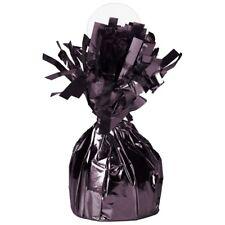 Black Foil Helium Balloon Weight Holder Party Supplies