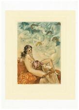 Louis ICART eau-forte originale en couleurs 1935 Rare estampe 1/35 ex. Hollande