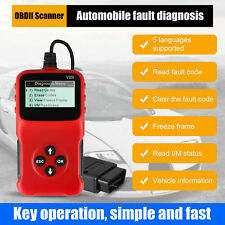 Automotive OBD2 EOBD Scanner Car Code Reader Engine Fault Diagnostic Check Tool