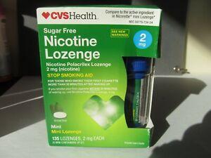 CVS Health 2mg Nicotine Mini Lozenge - Mint,  135 total Please read