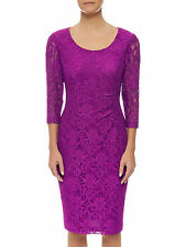 Precis UK Designer Floral Lace Party Cocktail Dress Size S (10 AU), RRP $179