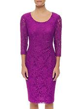 Precis UK Designer Floral Lace Party Cocktail Dress Size S (10 AU), RRP $179