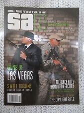 Small Arms Review 2015 Vol 19 Number 1 New Stamped AK SWAT MAXIM Glock 41 M16