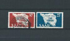 SARRE / SAAR - 1948 YT 248 à 249 - TIMBRES OBL. / USED - COTE 11,00 €