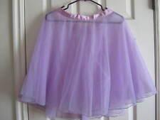 "Lavender Sheer Tricot Dance Skirt - 19"" long, 25"" waist - Curtain Call"