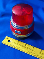 BBB RED EMERGENCY LIGHT POLICE FIRE TRUCK TOY VTG HONG KONG 60s-70s Suction Cup