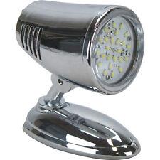 NEW Caravan Light Bunk Light / Reading Light LED 12 Volt Chrome Finish 72 Lumens