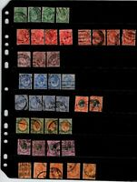South Africa King George V 1913 - 1922 | 38 Stamps Used
