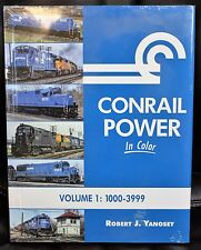 MORNING SUN BOOKS - CONRAIL POWER In Color Volume 1 : 1000-3999 - HC 128 Pages