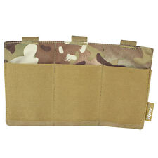 Viper Triple MOLLE Universal Elastic Magazine Mag Plate Ammo Pouch V-CAM MTP