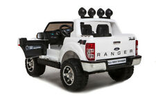 Kinderauto elektrisch Ford Ranger weiß 2x45W Motor Elektroauto Jeep 2 Sitzer SUV