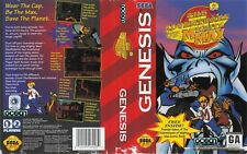 The Adventures Of Mighty Max Sega Genesis Replacement Box Art Case Insert Cover