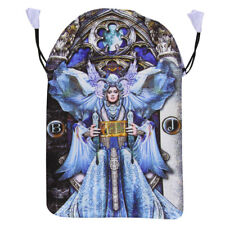 "NEW Illuminati High Priestess Tarot Bag 6x9"" Fully Lined Satin Drawstring Pouch"