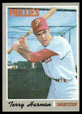 1970 TOPPS BASEBALL CARD OF TERRY HARMON OF THE PHILLIES  CARD   #486
