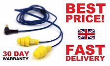 PLUGFONES 30 DAYS WARRANTY - ORIGINAL - FREE P&P - 2 in 1 EARPLUGS & EAR PHONES